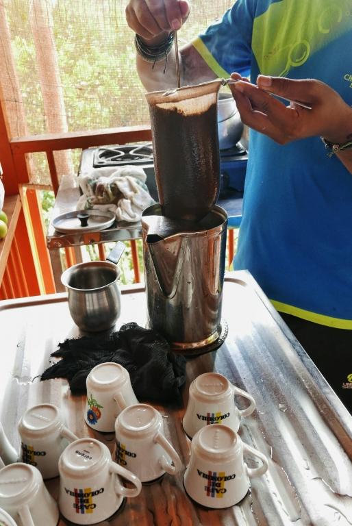 Cafetera típica colombiana