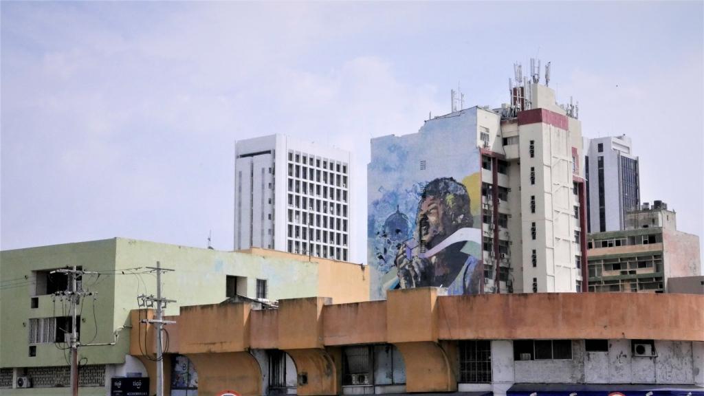 Arte urbano en la zona centro