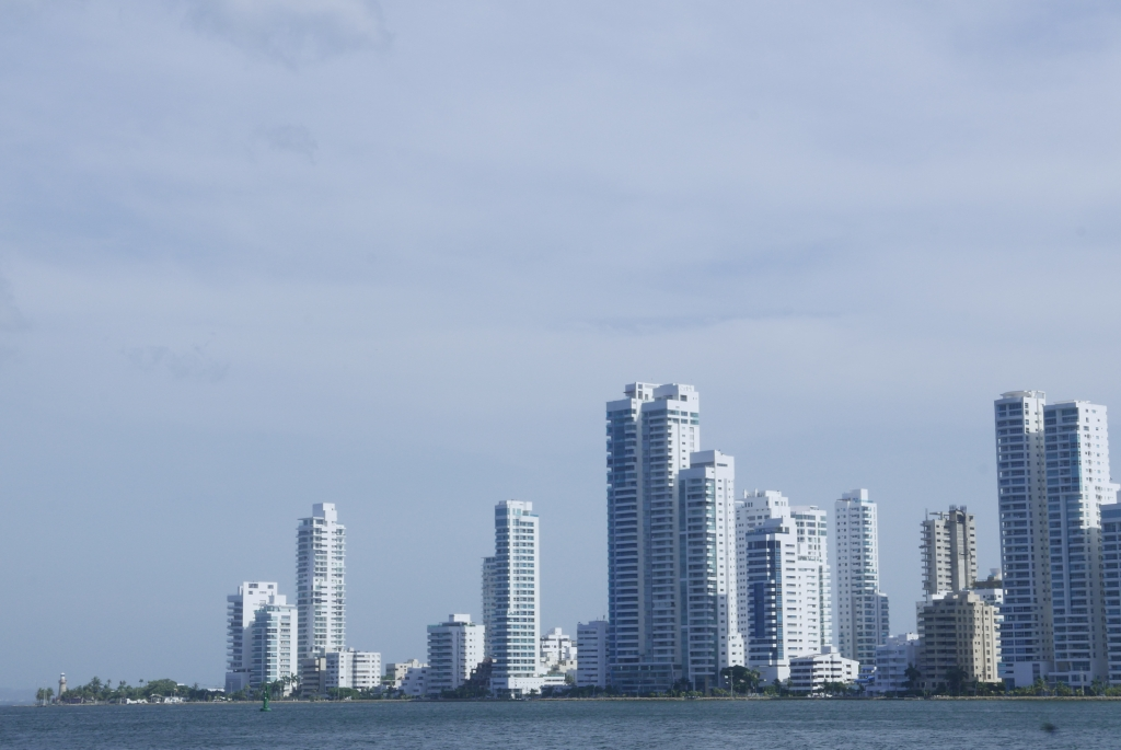 Skyline de Bocagrande