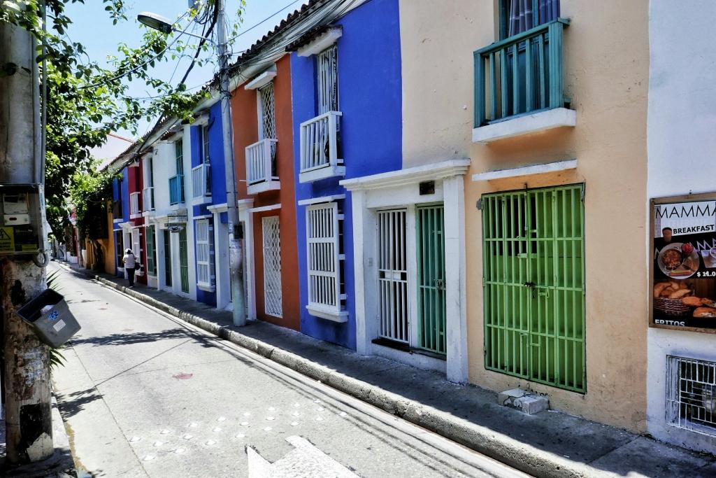 Calles coloridas de Cartagena