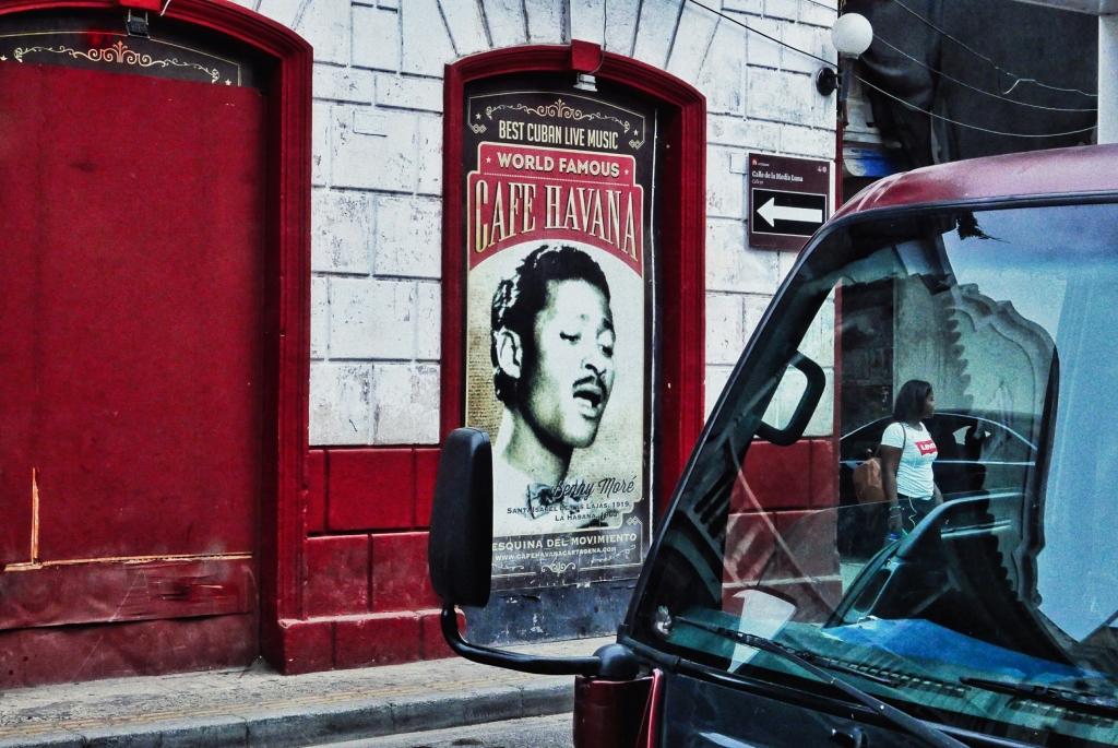 Fachada del Café Havana en Getsemaní