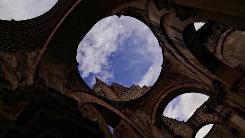 Cielo en la Catedral de San José