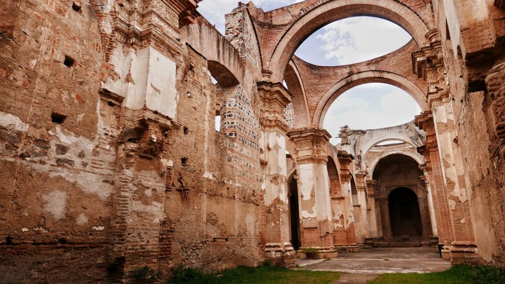 Catedral de San José en ruinas