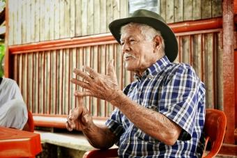 Don Elias, maestro cafetero