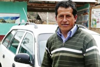 Francisco, taxista y agricultor