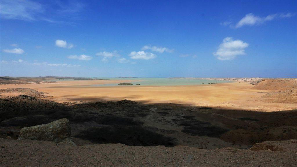 Agua como un oasis en el desierto de la Guajira